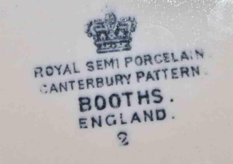 Booths England mark