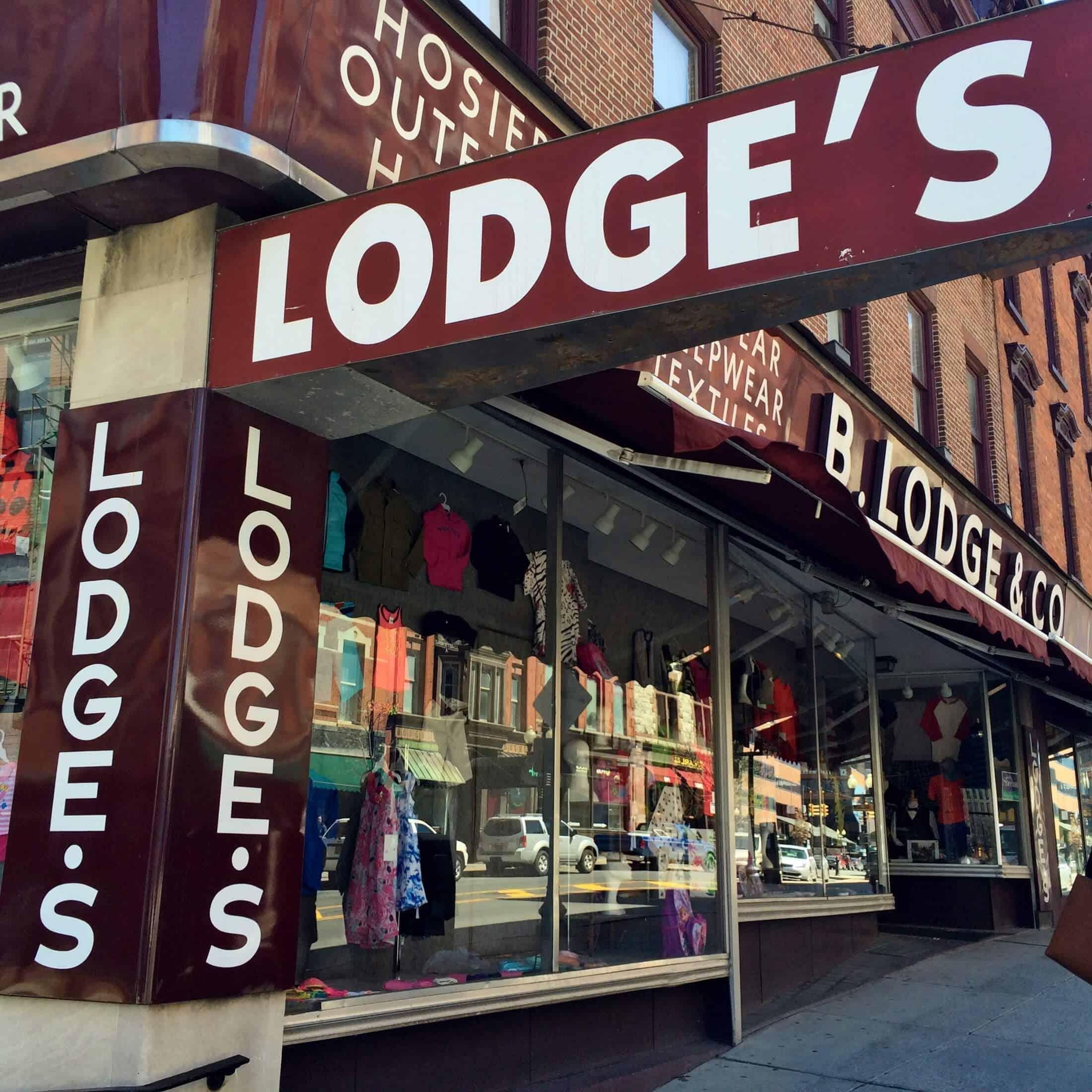 Lodge's storefront albany ny