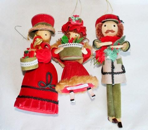 Kurt S. Adler Victorian style ornaments