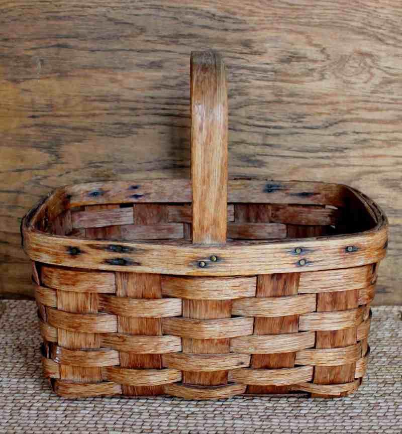 oak splint basket