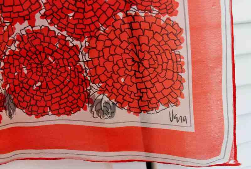 vintage vera neumann mum scarf