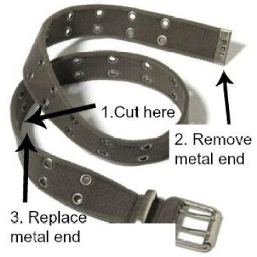 grommet belt diagram