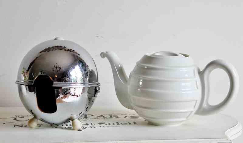 vintage chrome stayhot teapot British Made