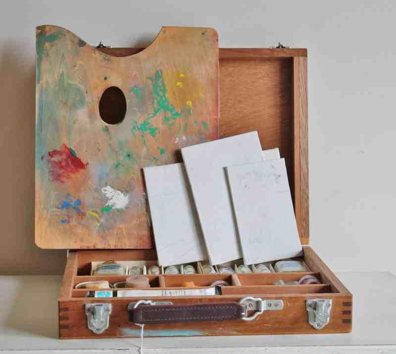 vintage paint set