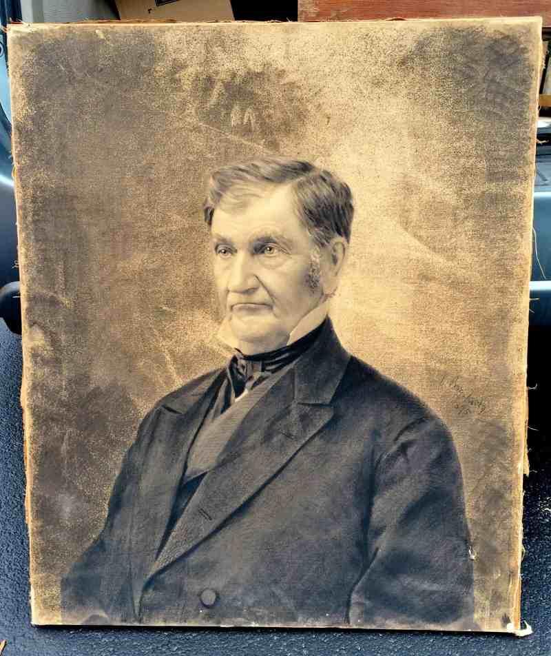 Antique photograph of a man