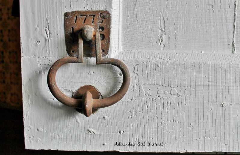 Becker Stone House door knocker
