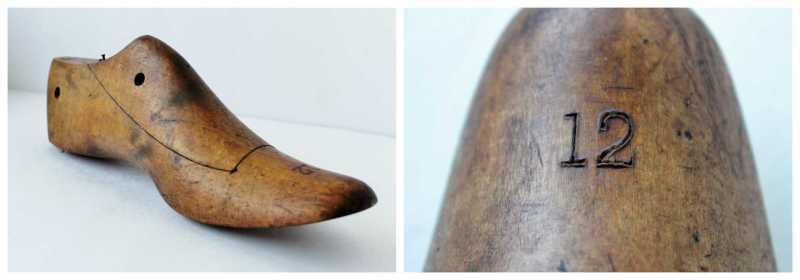 Antique Wooden Cobbler's Shoe Form
