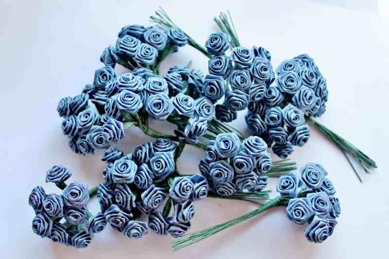 Blue Ribbon Rosettes