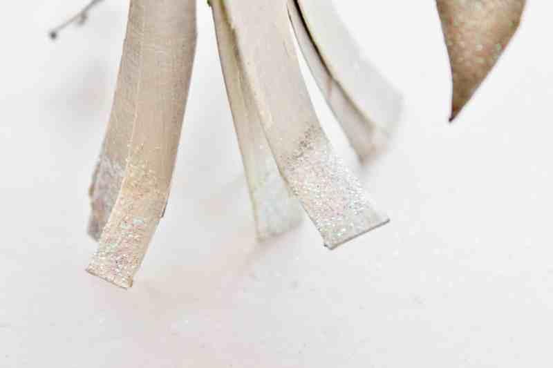glitter on bottom of angel skirt