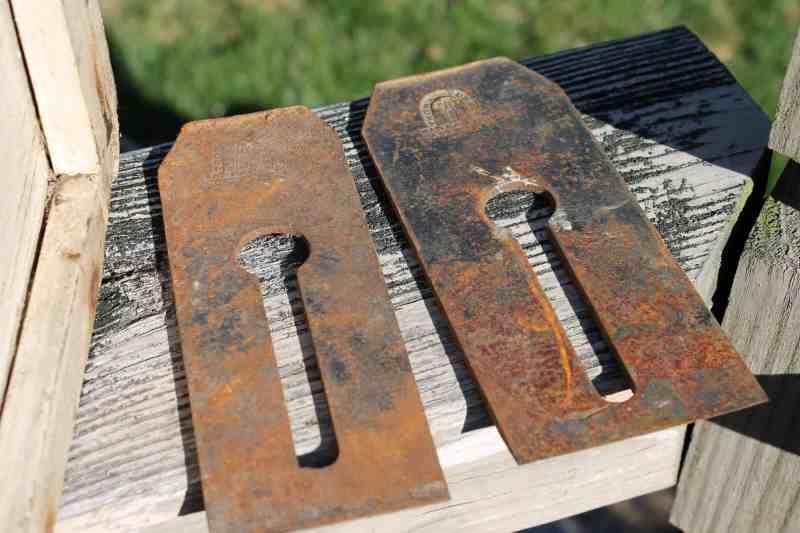 Metal plane parts