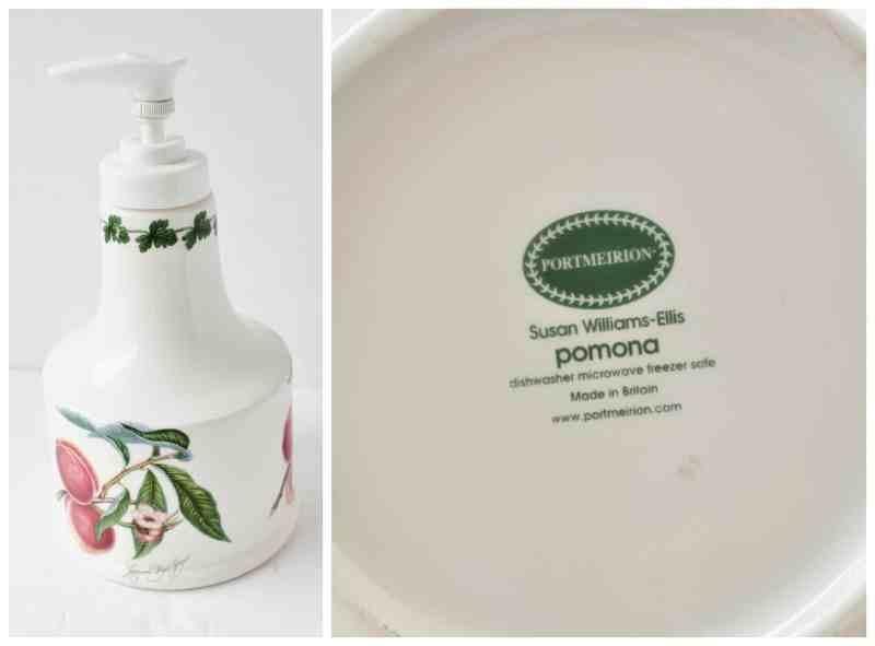 Portmeirion Soap Dispensor