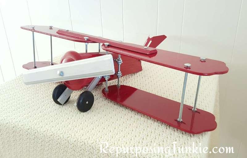 Repurposed Fan Blade Airplane