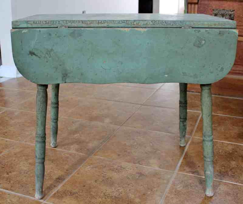 Antique Child's Farm Table