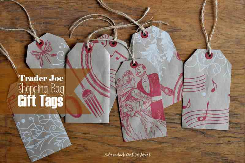 Trader Joe Shopping Bag Gift Tags