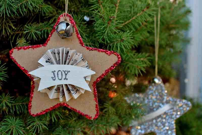 Joy star on tree