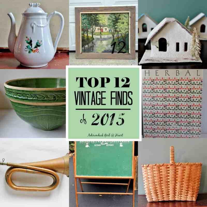 Top 12 Vintage Finds of 2015