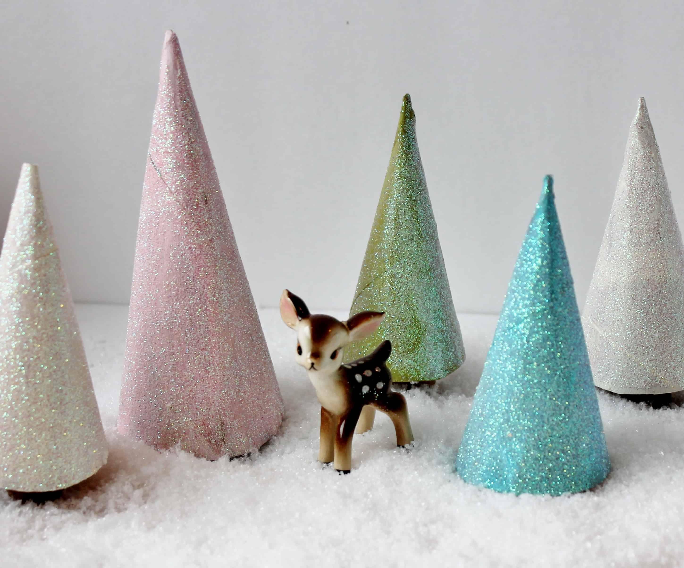 TP Tube Glitter Trees