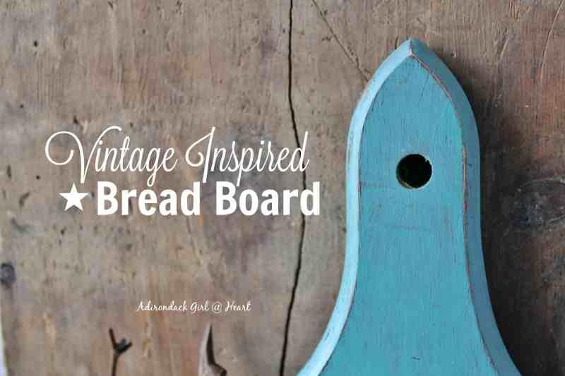Close Up of DIY Bread Board