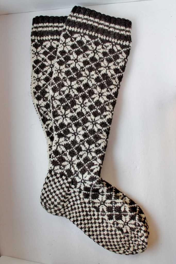 Vintage Norwegian Wool Ski Socks