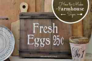 How to Make a Farmhouse Sign