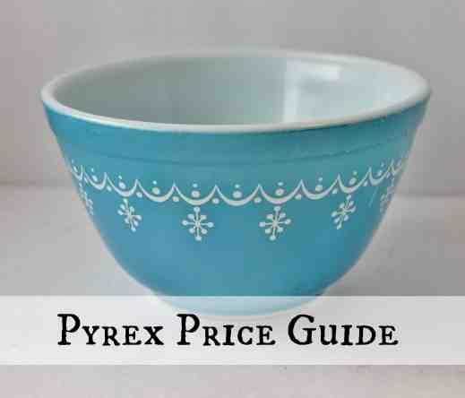 Pyrex Price Guide Button