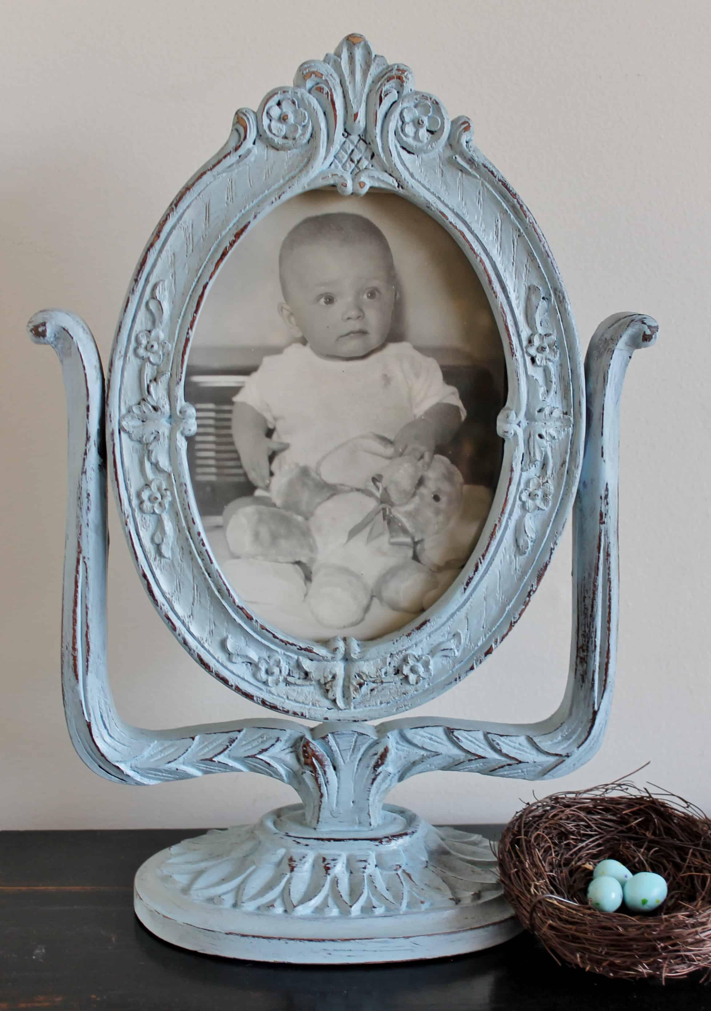 Pedestal Frame Makeover