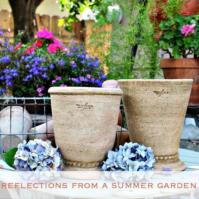 Wonderful Summer Garden At French Garden House
