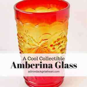 A Cool Collectible: Amberina Glass