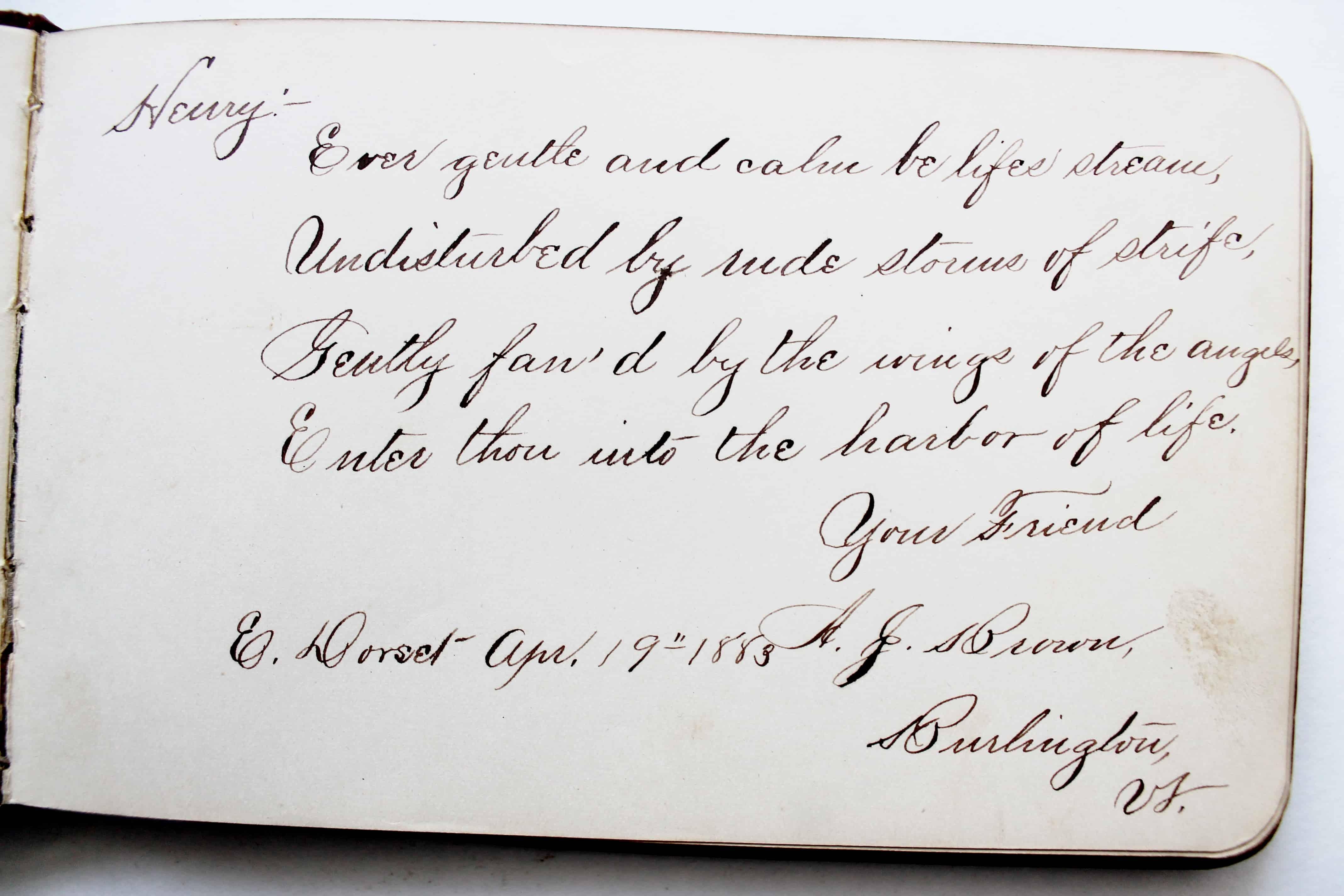 Antique autograph (14)
