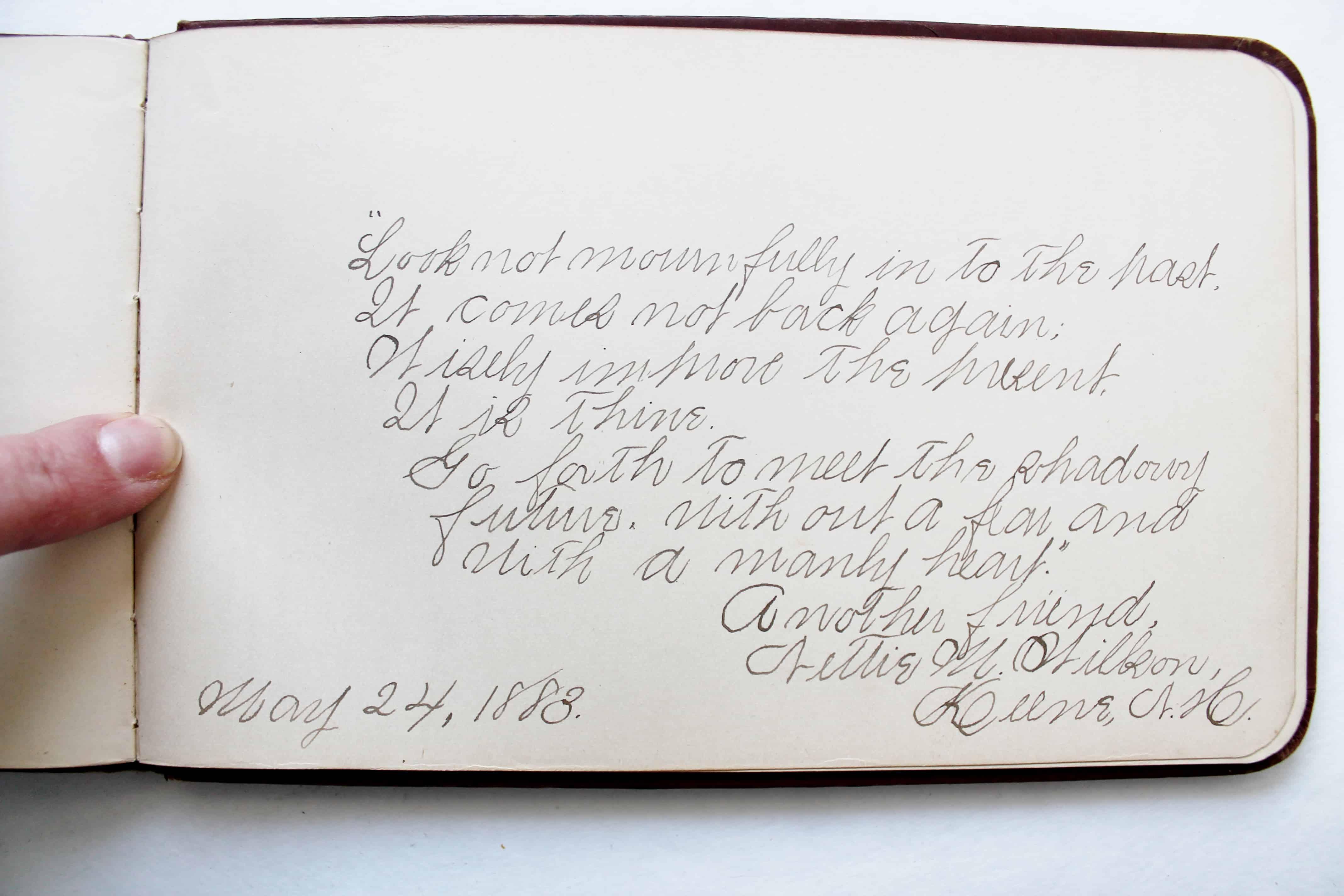 Antique autograph (3)