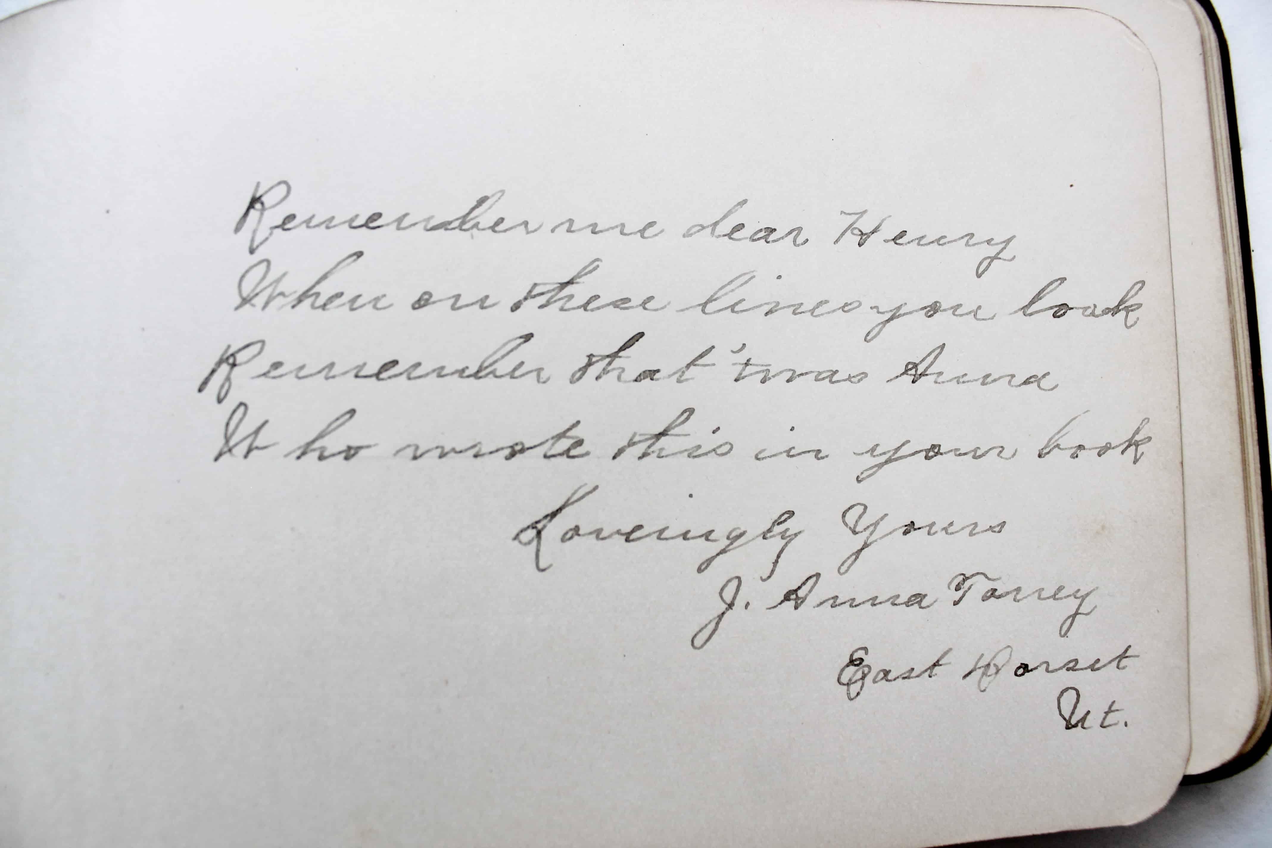 Antique autograph (5)