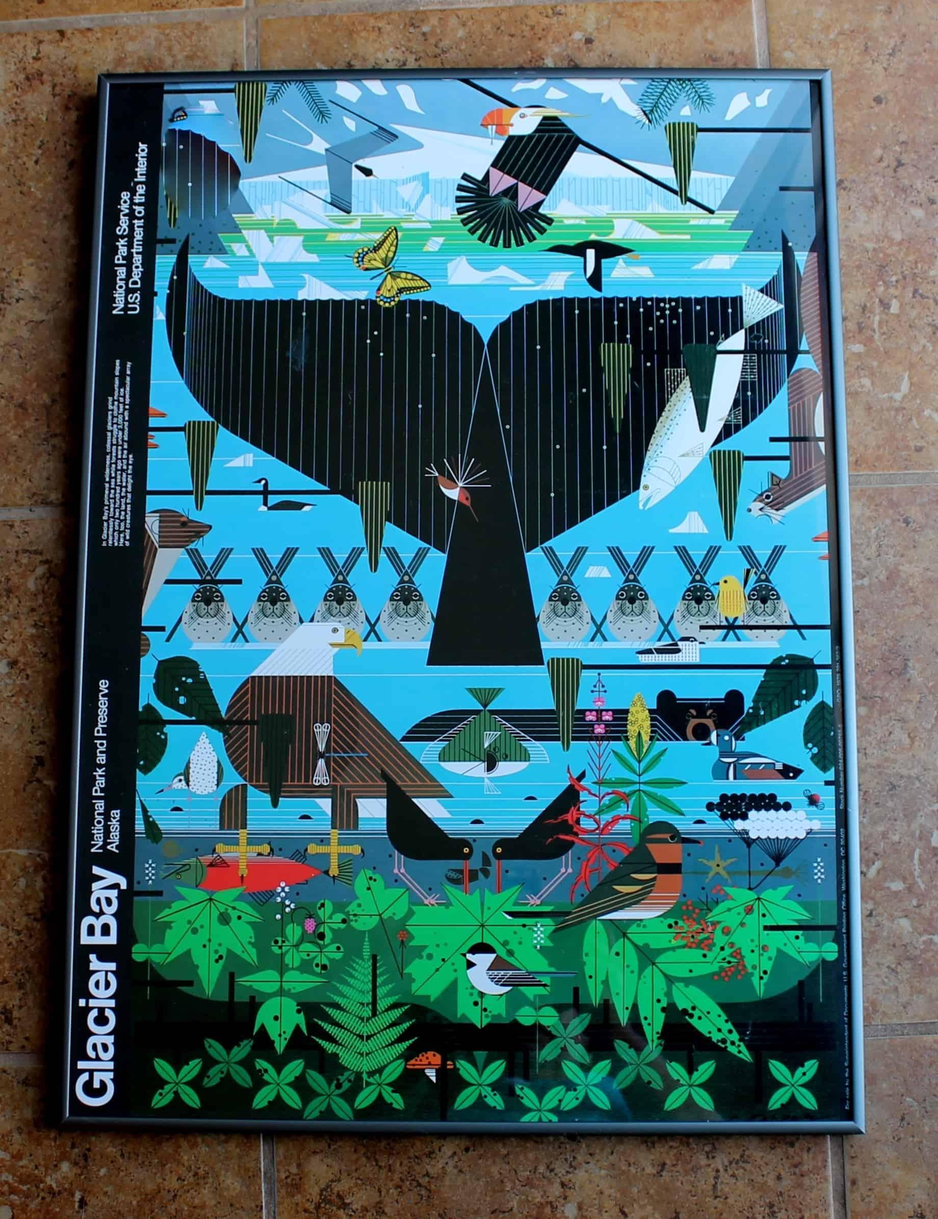 Charles Harper Glacier Bay NPS 1979 Poster