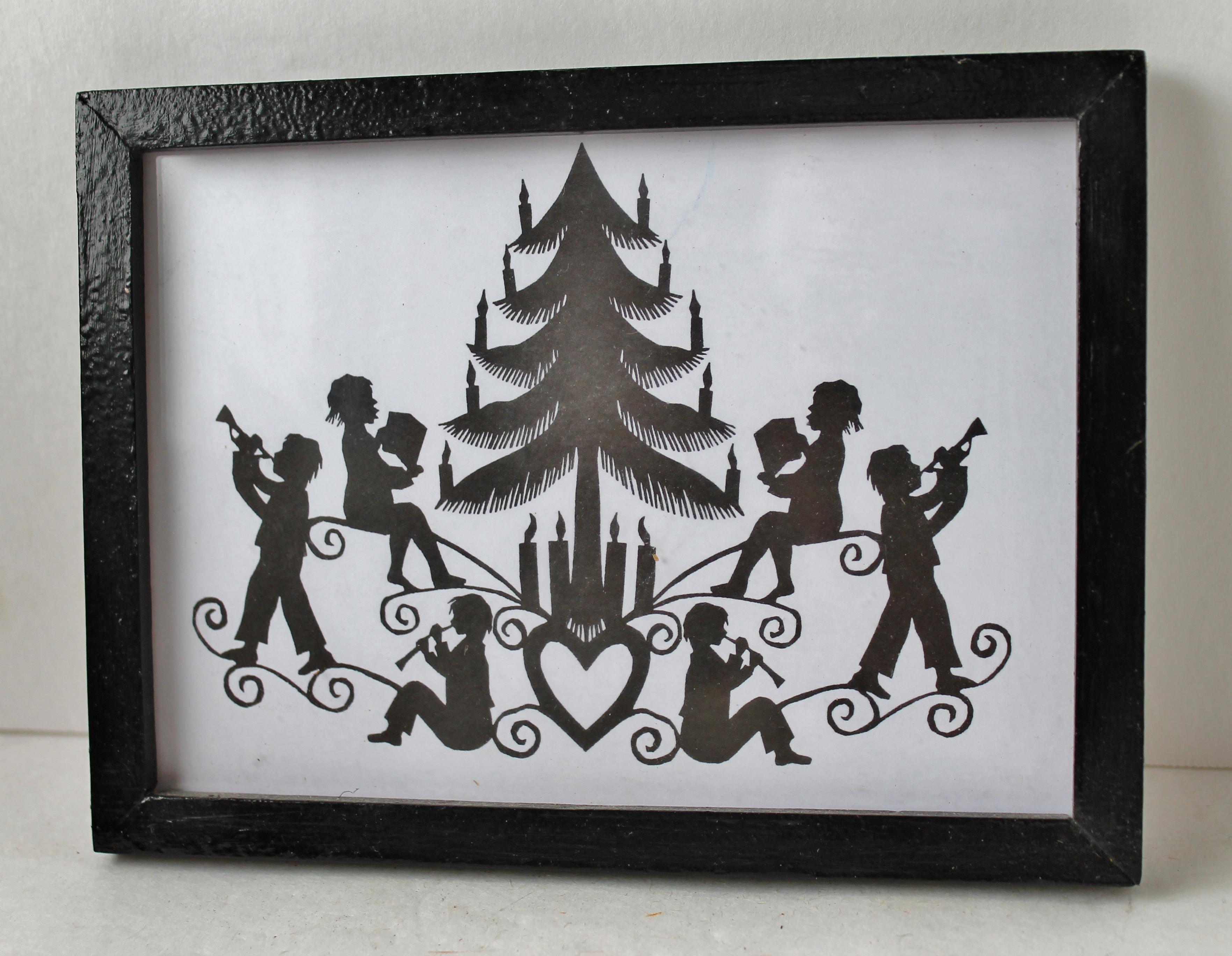 Pennsylvania Dutch scissor art