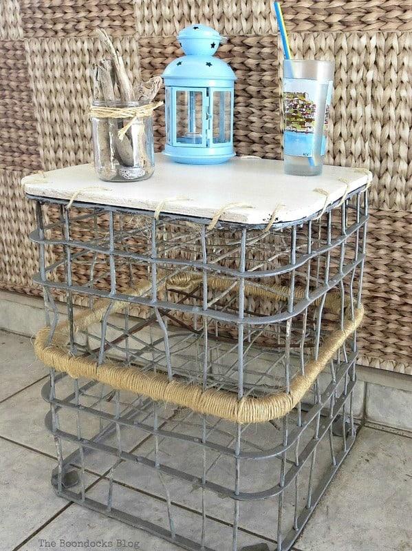Boondocks milk crate table cecilia's #32