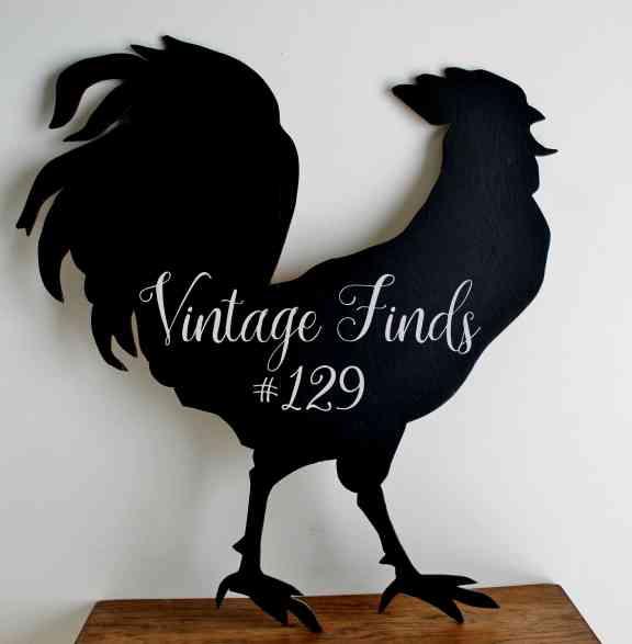 Vintage Rooster Silhouette Vintage Finds #129
