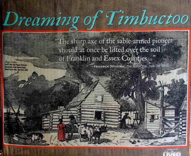 Dreaming of Timbuctoo display