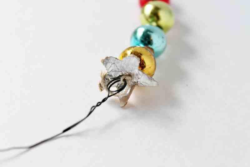 Vintage Mercury Glass Christmas Tree Beads (2)