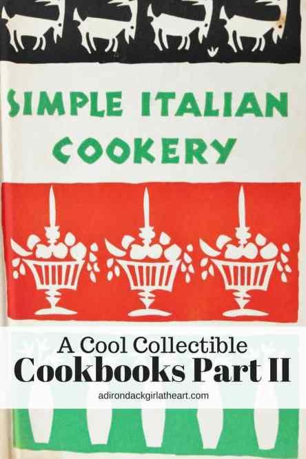 A Cool Collectible: Cookbooks Part II adirondackgirlatheart.com