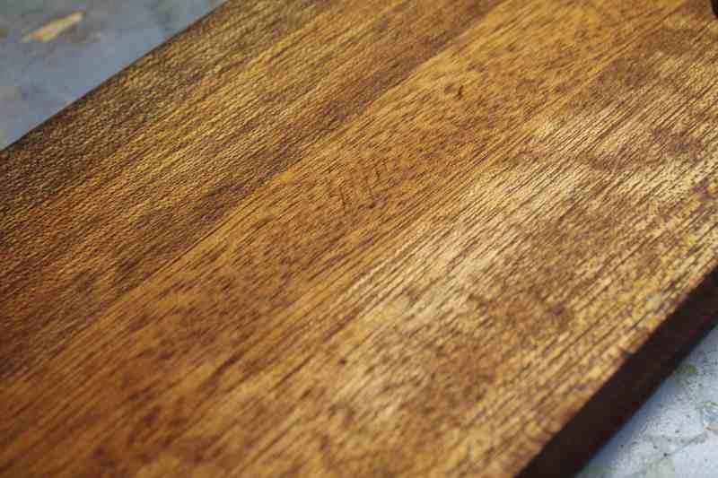 Bread board after sanding