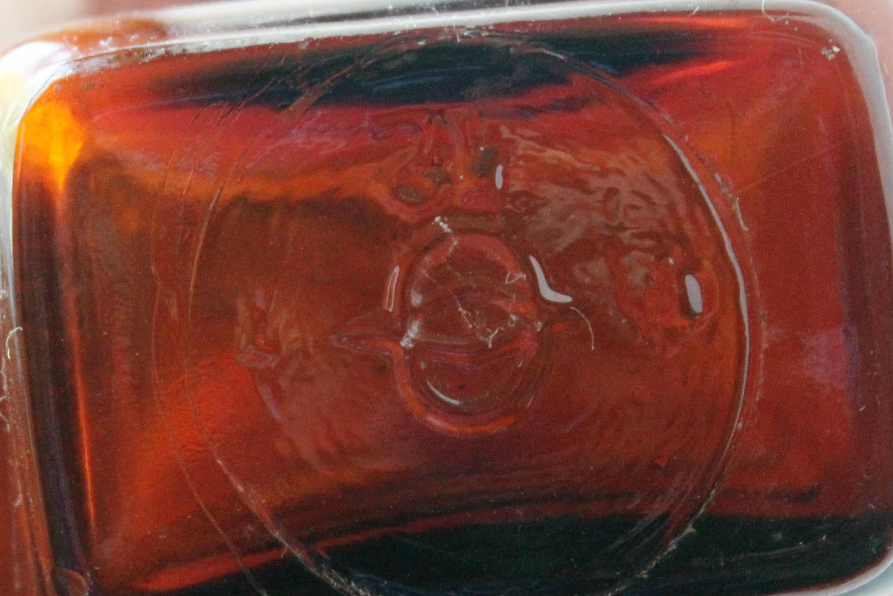 Extract 6 Bottom of Vintage Amber bottle (2)