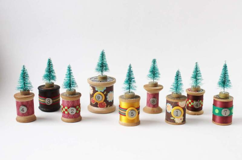 vintage-thread-spools-with-bottle-brush-trees-1280x844