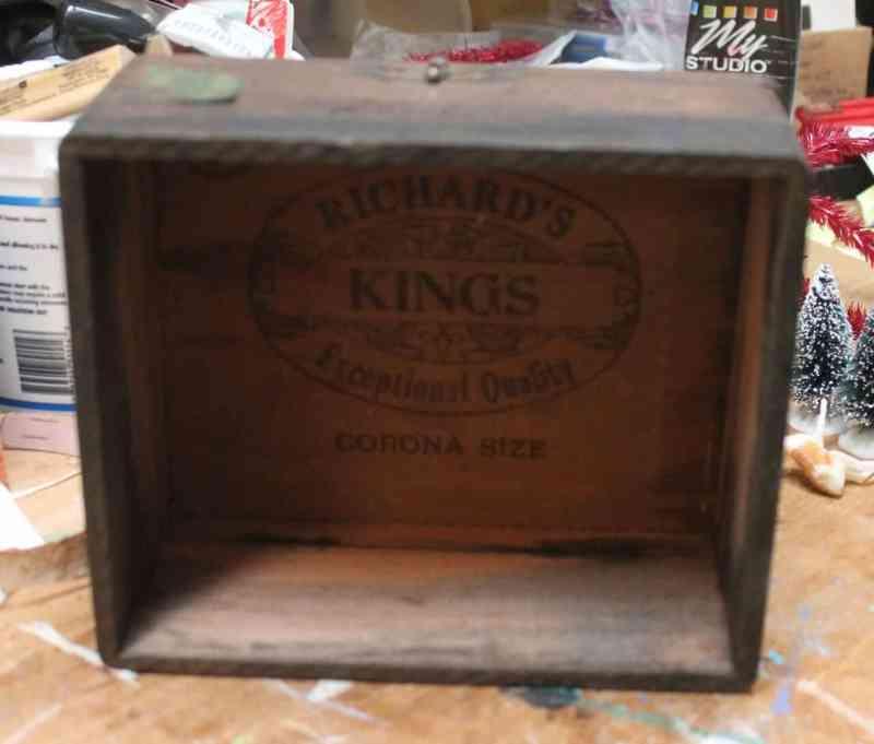 old cigar box