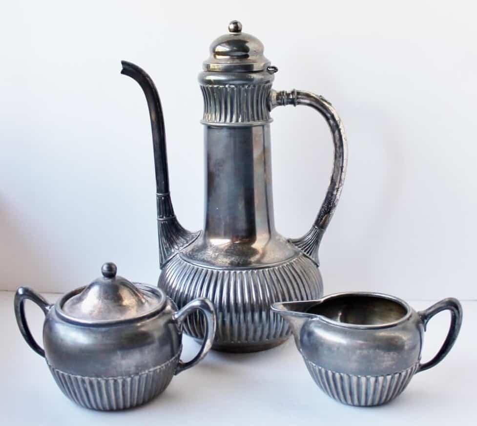 Vintage Silver Plated tea set