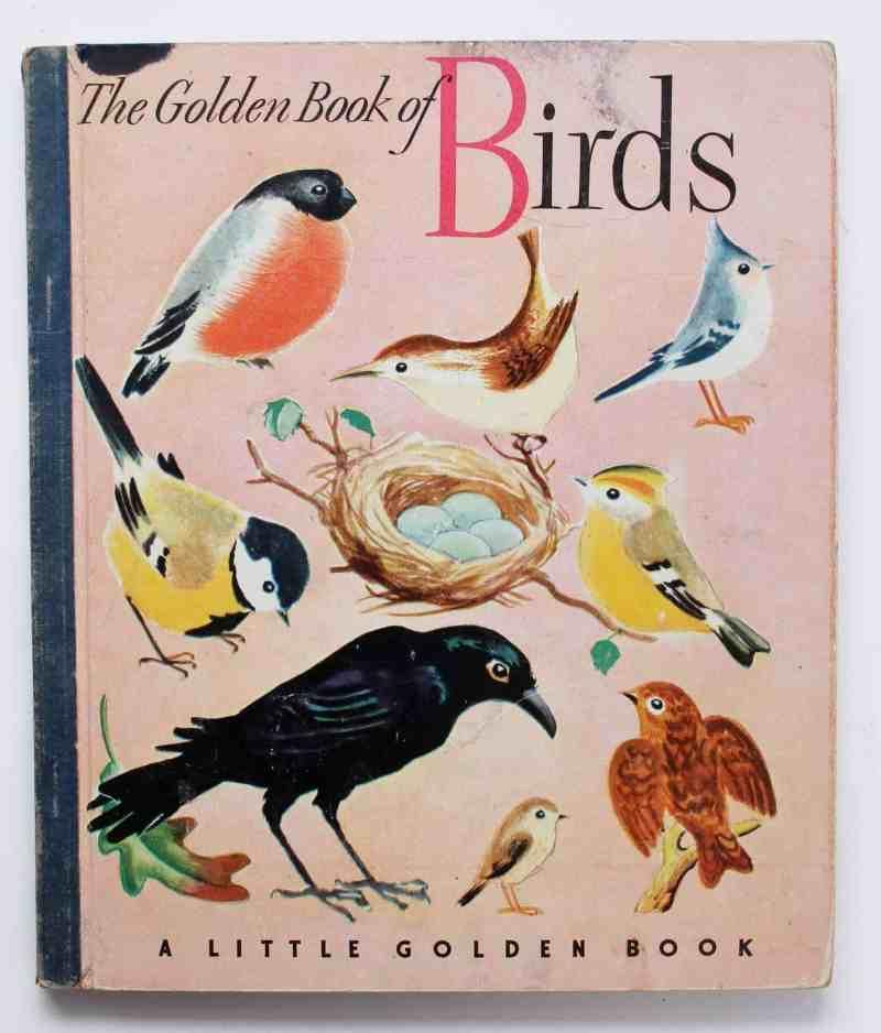 Vintage little golden books Birds