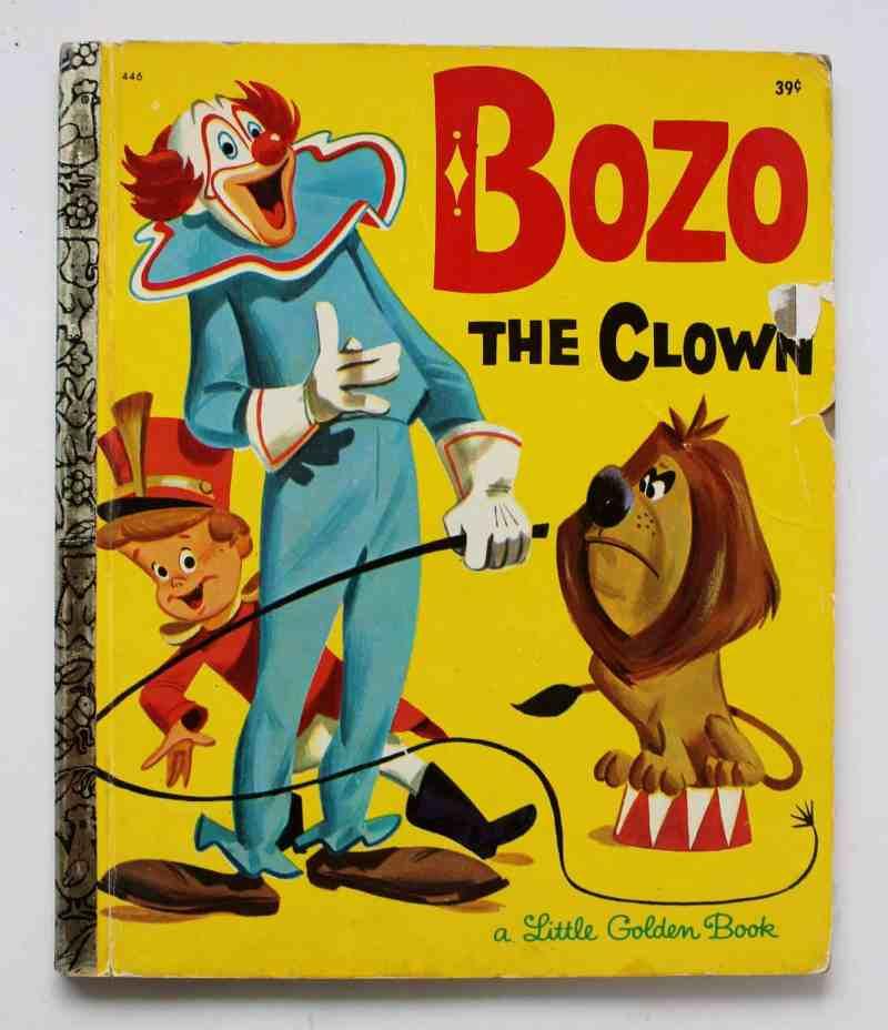 Bozo the Clown little golden book