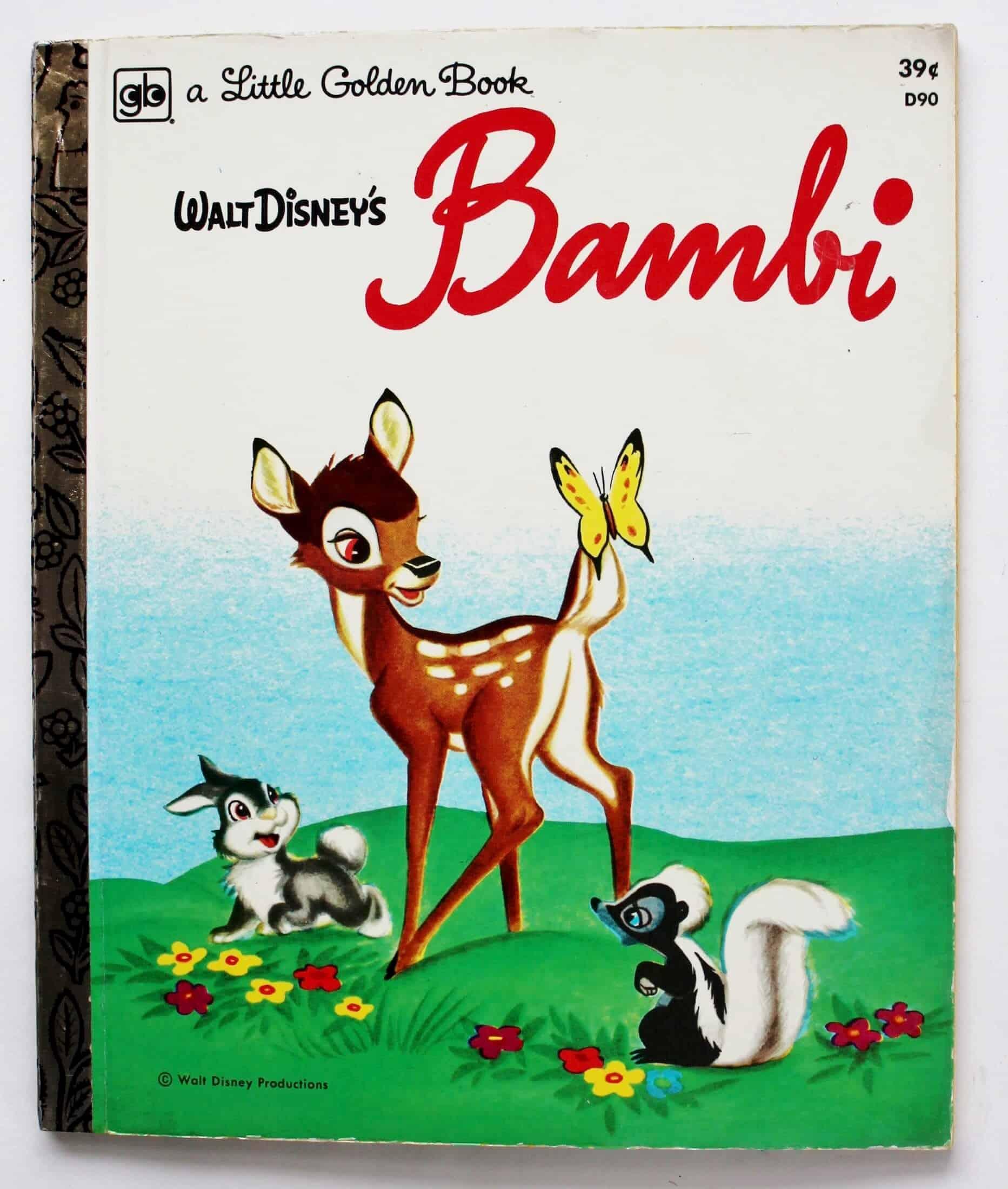 bambi little golden book