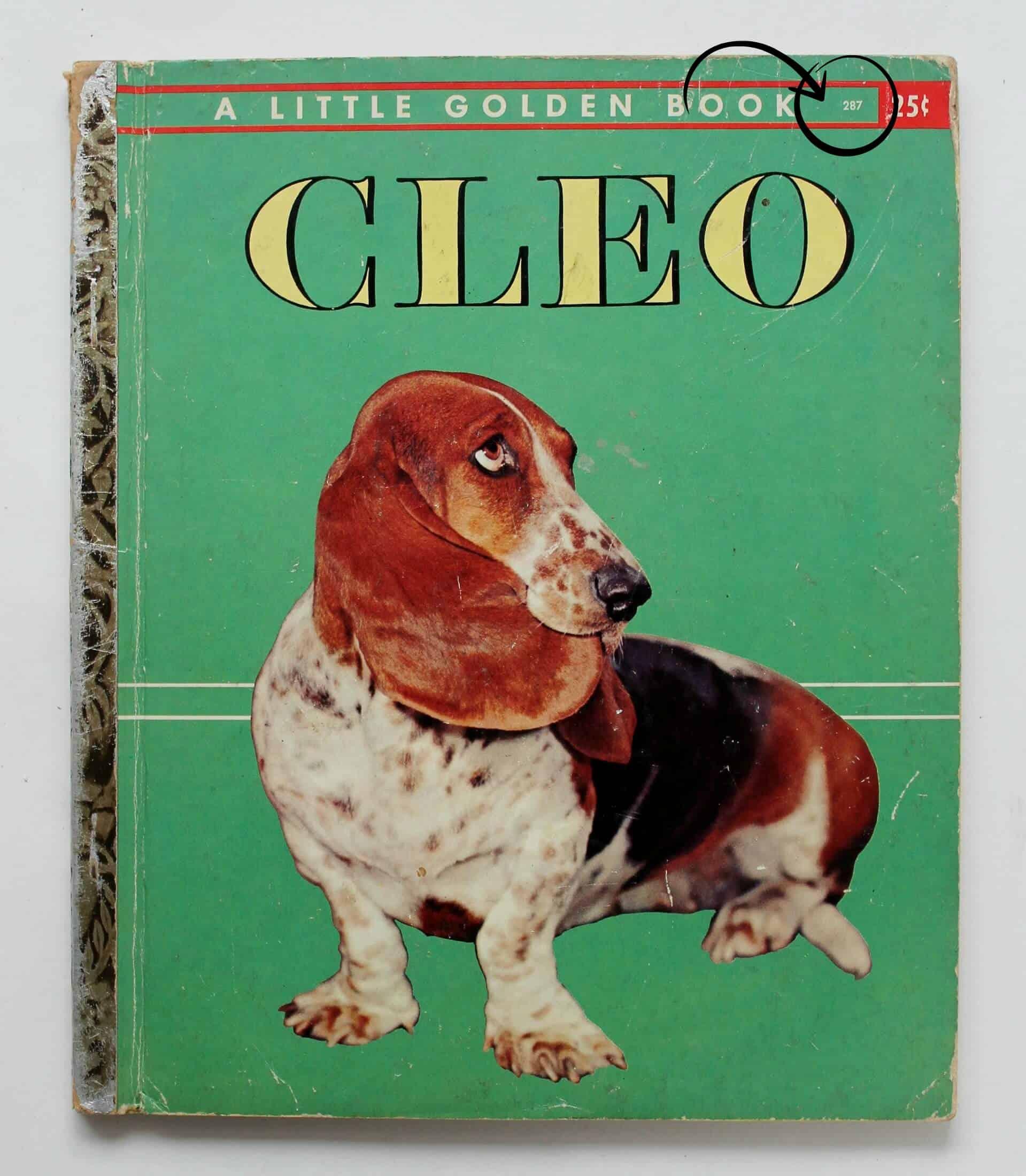 Cleo a vintage little golden book