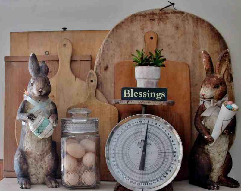 Large composition rabbits