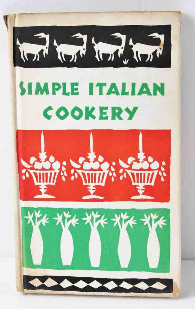 Vintage Italian cook book
