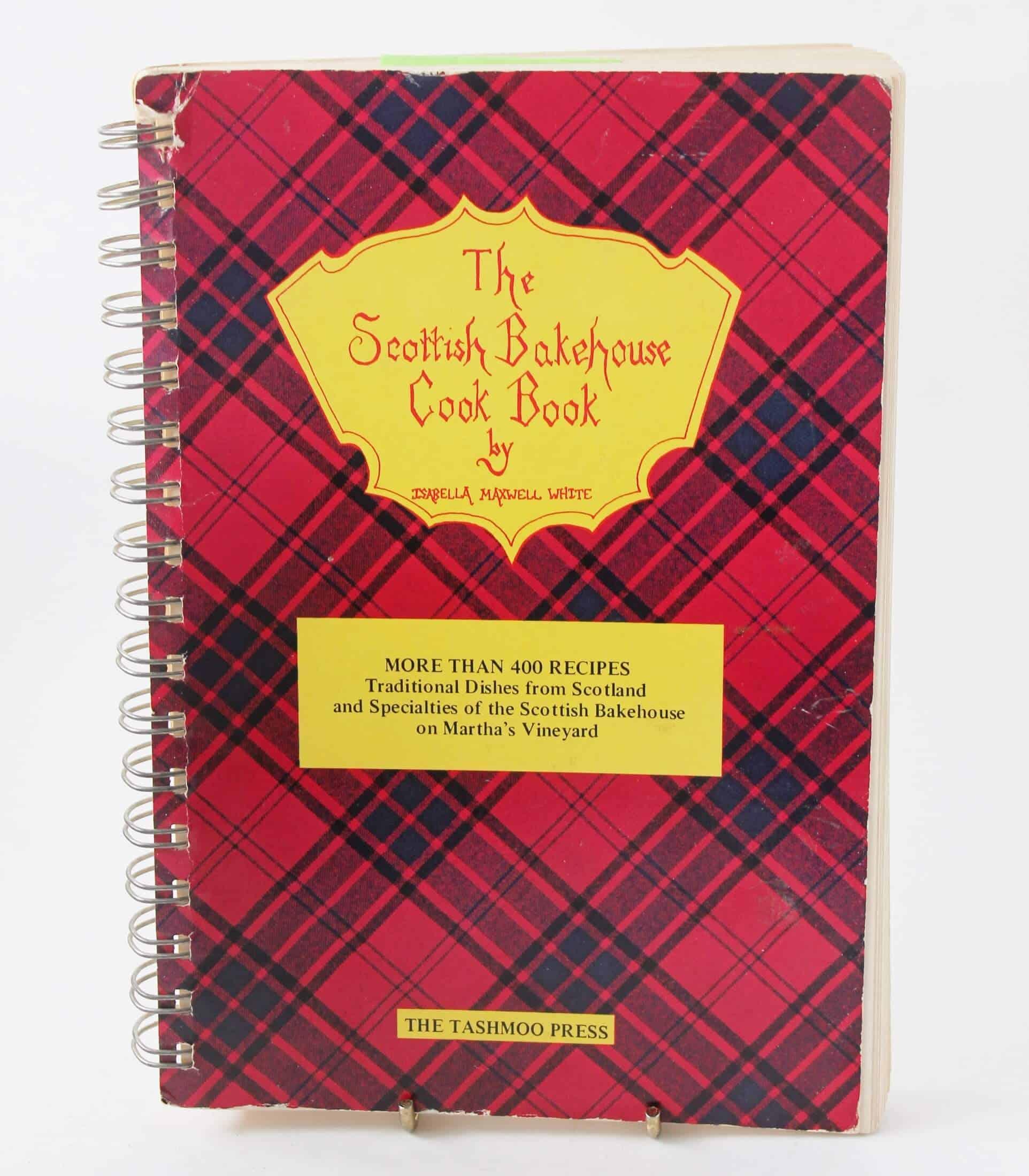 Scottish cookbook